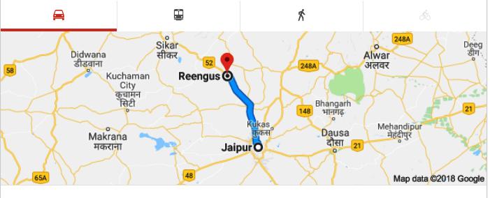 Baba Khatu Shyam Ji to Jaipur