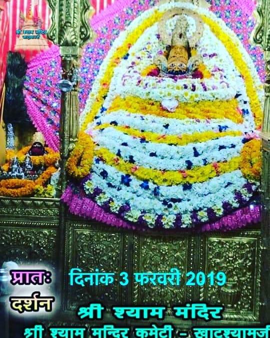 Khatu Shyam Darshan 03.02.2019