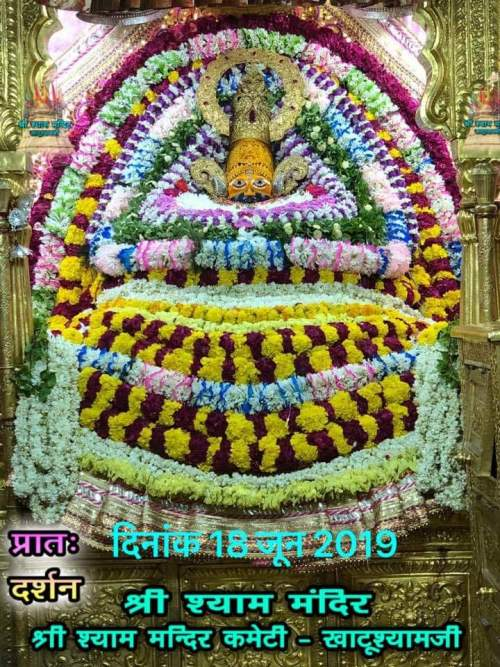 Today baba khatu shyam ji darshan 18.06.2019