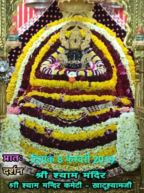 Khatu Shyam Darshan 08.02.2019