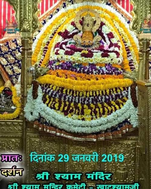 Khatu Shyam Darshan 29.01.2019