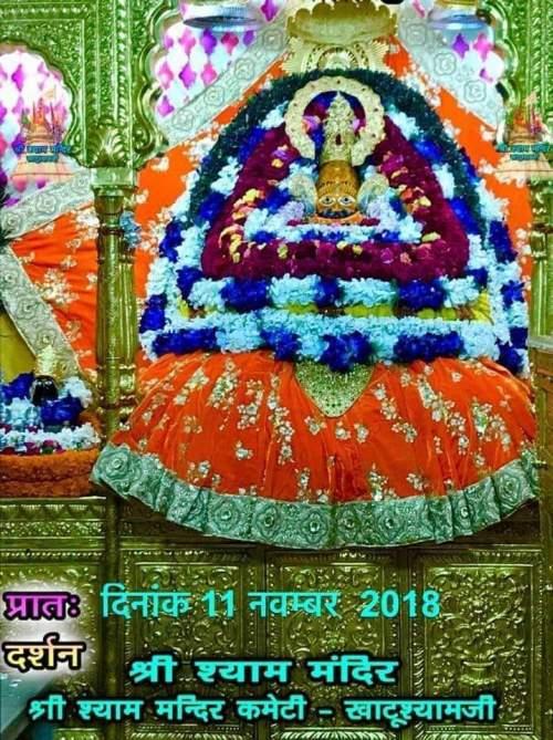 khatu shyam darshan 11.11.2018