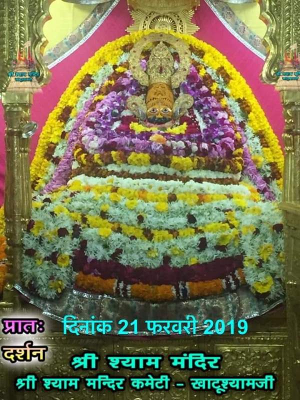 Khatu Shyam Darshan 21.02.2019