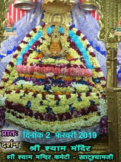 Khatu Shyam Darshan 02.02.2019