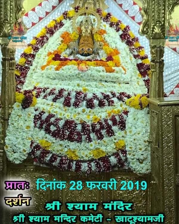 Khatu Shyam Darshan 28.02.2019