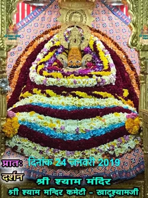 Khatu Shyam Darshan 24.01.2019