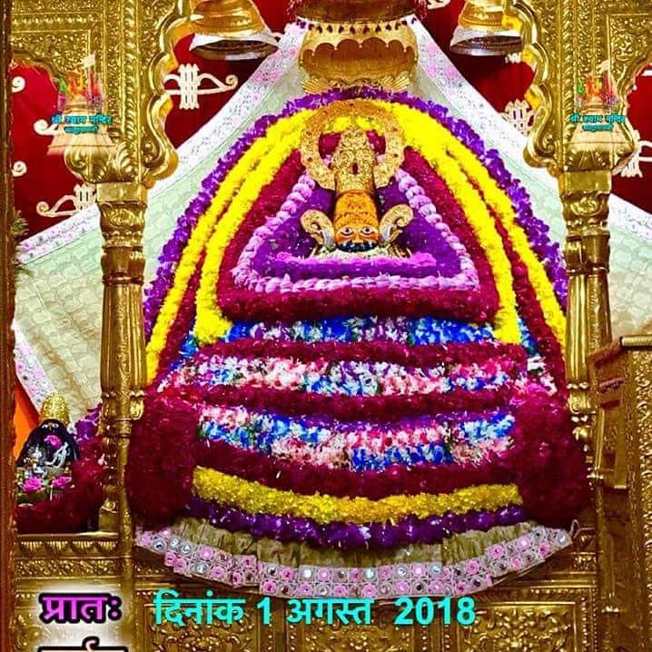 khatu shyam baba ke aaj ke darshan