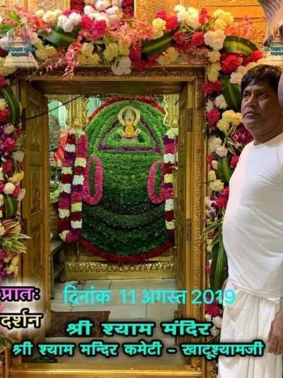 Khatu Shyam Darshan 11.08.2019