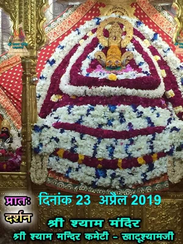 Khatu Shyam Darshan 23.04.2019