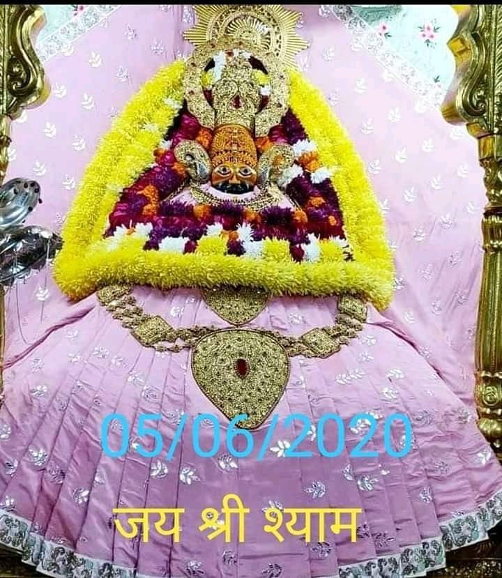 khatu shyam today darshan 05.06.2020