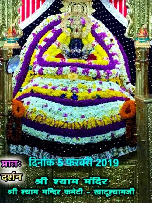 Khatu Shyam Darshan 05.02.2019