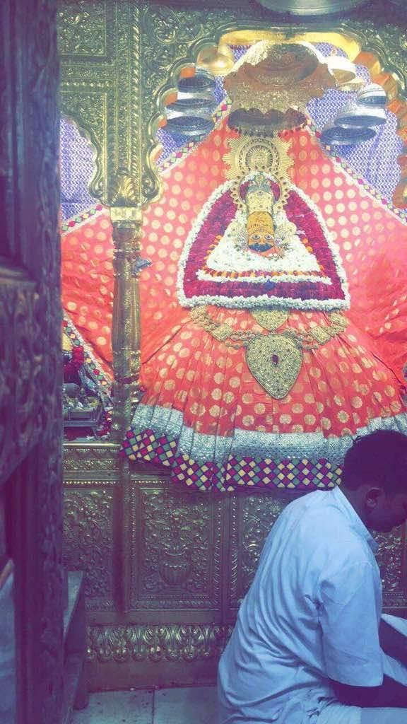 Today shyam sandhya Darshan