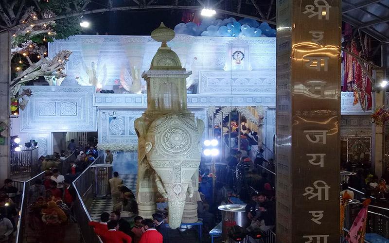 shyam baba temple falgun mela images