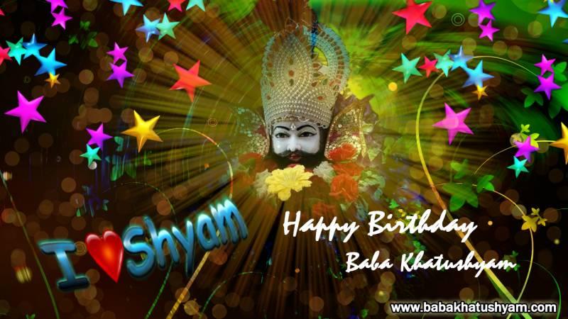 birthday photo shyam baba