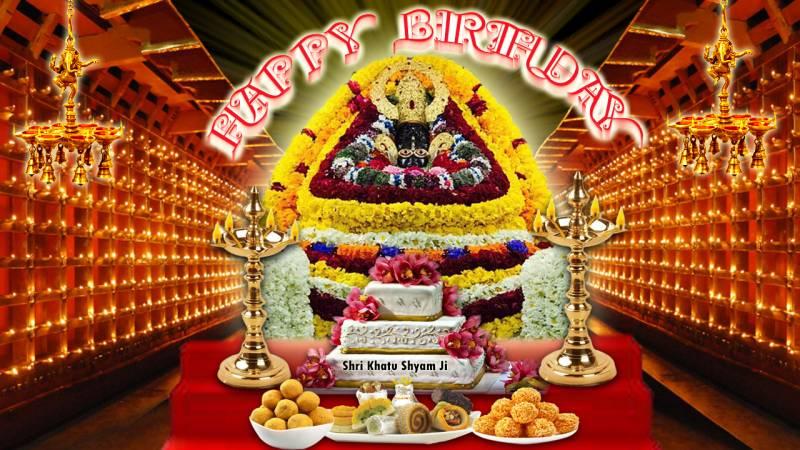 khatu shyam birthday images