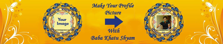 make photo with khatu shyam